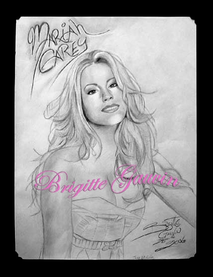 Mariah Carey by BrigitteGo